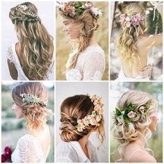 """1,274 curtidas, 28 comentários - RJ Weddings   Búzios (@casamentoembuzios) no Instagram: """"Inspirações lindas de penteados para casamento na praia! . . www.casamentoembuzios.com .…"""""""