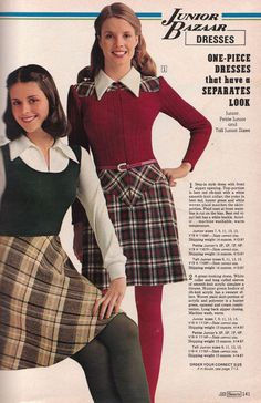 Sears 1974 Fall Winter Catalog 0031 Pages of Polyester: The Sears 1974 Catalog Way twee... but so cute!
