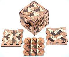 Kevin Lee: Inlaid Wooden Box of Makoto Nakamura's Tessellations