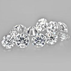 NATURAL LOOSE ROUND DIAMOND LOT OF 0.10 CTS SI1 CLARITY FOR YOUR JEWELRY #Aartidiamonds