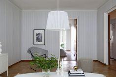 Mr. Perswall E022501-6 Foto-Tapete Vlies-Wandbild getäfelte Holz-Paneele in weißer Holzoptik