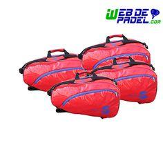 Imagenes de deporte y padel Pack Paletero Softee Pro Rojo x 4 - https://webdepadel.com/pack-paletero-softee-pro-rojo-x-4/