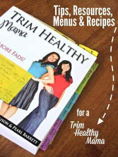 All of my Trim Healthy Mama resources, menus, and recipes in one place!