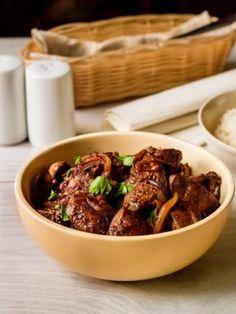 Куриная печень в азиатском стиле