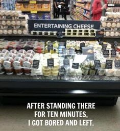 Entertaining cheese... not so entertaining after all.