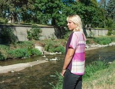 Fen Pattern: Jess's Double Trouble Fen Tee | Fancy Tiger Crafts --> love this version!