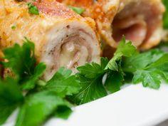 Frumos și gustos: Rulouri Cordon Bleu! Shrimp, Meat, Chicken, Food, Essen, Meals, Yemek, Eten, Cubs