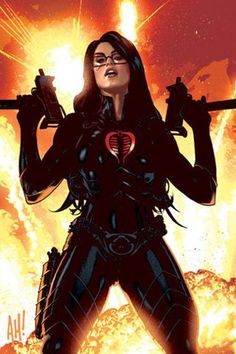 Another mastermind behind Cobra Command, The Baroness.