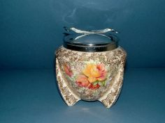 Art Deco Clarice Cliff Design Sugar Bowl with by QueensParkVintage, $45.00