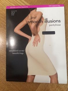 Hanes Smooth Illusions  Contouring Pantyhose