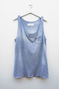 Tank Top in blue - Meloni Mitchell