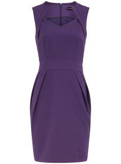Purple pencil dress - View All - Dresses - Dorothy Perkins