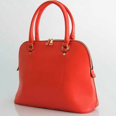a very classical bag in a wonderful red  we are waiting for the summer