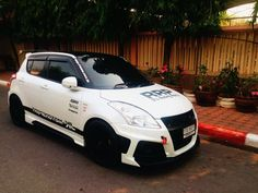Suzuki Swift Sport, Nissan March, Suzuki Cars, Car Tuning, Car Wrap, Hot Cars, Custom Cars, Cars And Motorcycles, Dream Cars