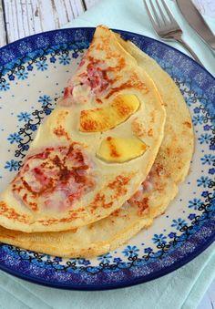 Apple bacon pancakes - appel-spek pannenkoeken - Laura's Bakery
