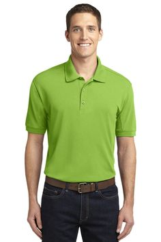 Port Authority 5-in-1 Performance Pique Polo Green Oasis K567