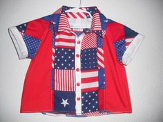 I just listed  Americana Bowling Style Shirt Children Size 2/3 on The CraftStar @TheCraftStar #Americana #TheCraftStar