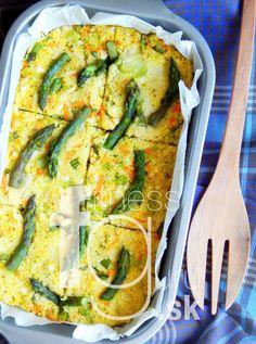 Zapekaný kuskus so zeleninou a syrom