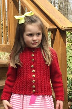 Child's Mock Cable Sweater Free Knitting Pattern
