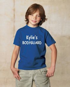 Big Brother Personalized Bodyguard Shirt By OodlesDecals On Etsy 1500 Hubby Birthday 40th