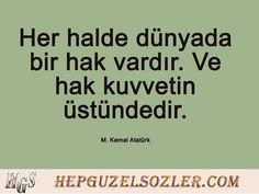 Atatürk'ün Adalet Hakkında Sözleri - 6 Resimli Söz Reading, Quotes, Home Decor, New Day, Quotations, Decoration Home, Room Decor, Word Reading, Qoutes