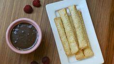 Chocolate-Raspberry Pie Sticks Recipe
