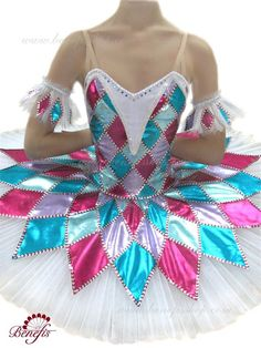 """The ballet costume is made on the basis of the professional basic tutu # T 0001 (see section """"Basic and rehearsal tutus""""). The bodice is made of thick fabric – the short Nutcracker Costumes, Tutu Costumes, Ballet Costumes, Doll Costume, Tutu Ballet, Ballerina Tutu, Ballet Dancers, Beautiful Costumes, Halloween Disfraces"""
