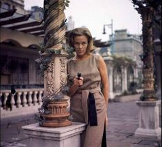 Honor Blackman as Cathy Gale in The #Avengers.