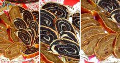 szep-marvanyos-teteju-bejgli Sausage, Muffin, Food And Drink, Cooking, Breakfast, Ethnic Recipes, Christmas, Basket, Bakken