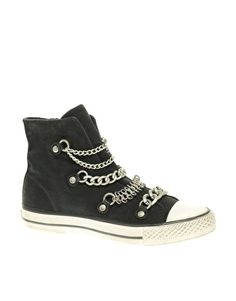 Enlarge Ash Val Bis Canvas Chain Sneakers