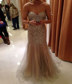 Gold dress prom quote