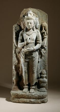 Brahma, the God of Creation | LACMA Collections, Indonesia, Central Java, 9th century.