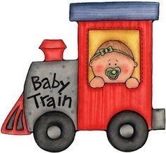 Aqui tienes un simpático Tren de niños para imprimir con muchos bebes, sus biberones y los juguetes que más le gustan envuelto en colores al...