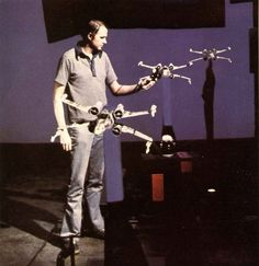 Filming the rebel attack on the Death Star (making of)