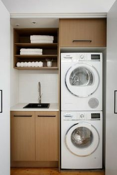 14 Basement Laundry Room ideas for Small Space (Makeovers) Laundry room decor Small laundry room ideas Laundry room makeover Laundry room cabinets Laundry room shelves Laundry closet ideas Pedestals Stairs Shape Renters Boiler Laundry Cupboard, Laundry Nook, Laundry Room Remodel, Small Laundry Rooms, Laundry Room Organization, Laundry In Bathroom, Compact Laundry, Basement Laundry, Small Utility Room
