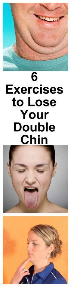 Double chin makes you look fat and older.  Ever wondered how you can get rid of doublechin?  Look no further, here are 6 Exercises to Lose Your Double Chin. Pls repin to help others.