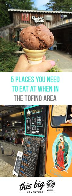 Here are Places You Need to Eat When Near Tofino (and Ucluelet too! Tacos, ice cream, bakeries, breweries and more! Ucluelet Bc, Columbia Outdoor, Grand Canyon Camping, Camping World, Rv Camping, Camping Cabins, Camping Stuff, Camping Photo, Honeymoon Places