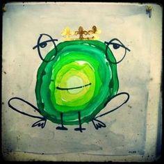 Arts And Crafts Target Key: 5227752820 Frog Theme, 3rd Grade Art, Frog Art, Ecole Art, Toddler Art, Kindergarten Art, Spring Art, Drawing For Kids, Art Plastique