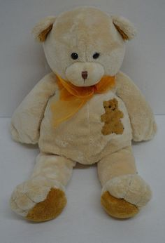 Wishpets Gage Teddy Bear Plush Tan Brown Bow Bean Bag 2002 #42047 #Wishpets http://stores.ebay.com/Lost-Loves-Toy-Chest/_i.html?image2.x=26&image2.y=13&_nkw=wishpets