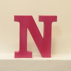 Letter N Pink, 19€, now featured on Fab.