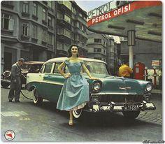 Taksim - Petrol Ofisi - 1950 ler
