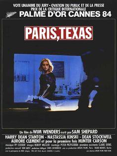 PARIS, TEXAS (1984) Movie Poster