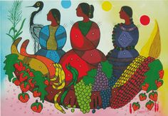 Triple Goddess, History, Painting, Art, Art Background, Historia, Painting Art, Kunst, Paintings