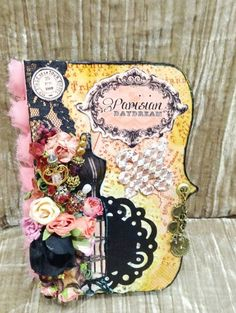 Ornate Style Mini Album Project using the Parisian Daydream printable JOurnal kit