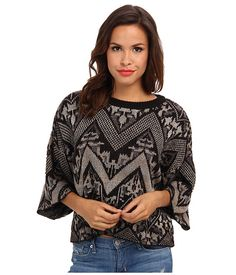 Free People Superstar Pullover Sweater