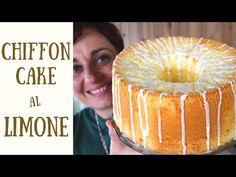 CHIFFON CAKE AL LIMONE Ricetta Facile - Glazed Lemon Chiffon Cake Easy Recipe - YouTube
