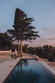 Pool and garden of Tenuta Masseriola, a holiday home surrounded by 8 hectares of olive trees. Located in Carovigno, Italy (Photo by… Pool Pool, Swimming Pools, Design Hotel, Villa Design, Lac Como, Diy Furniture Renovation, Voyager Loin, Dry Stone, Stone Houses
