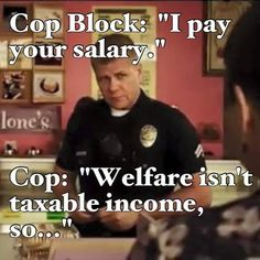 It's always funny watching cop blockers pretend they know their rights better than police/security officers do. Police Memes, Police Quotes, Funny Police, Police Wife Life, Cop Wife, Cops Humor, Cop Jokes, Police Lives Matter, All That Matters
