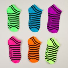 Minus the stripes, I already own these! Wacky Socks, Cute Socks, Curvy Plus Size, Only Shoes, Colorful Socks, Paper Beads, Ankle Socks, Sock Shoes, Plus Size Outfits