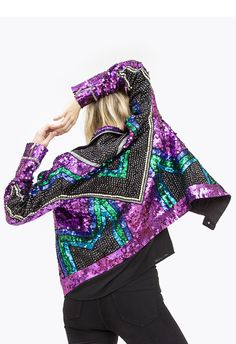 EMBROIDERY JACKET SEQUINED JACKET FROM JOULIK